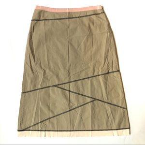 Anthropologie Neesh Skirt Mixed Media Medium